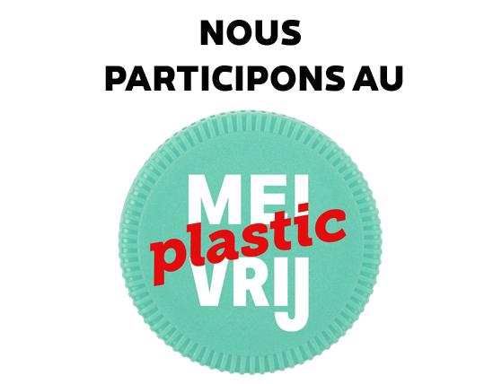 Nous participons au mois sans plastique