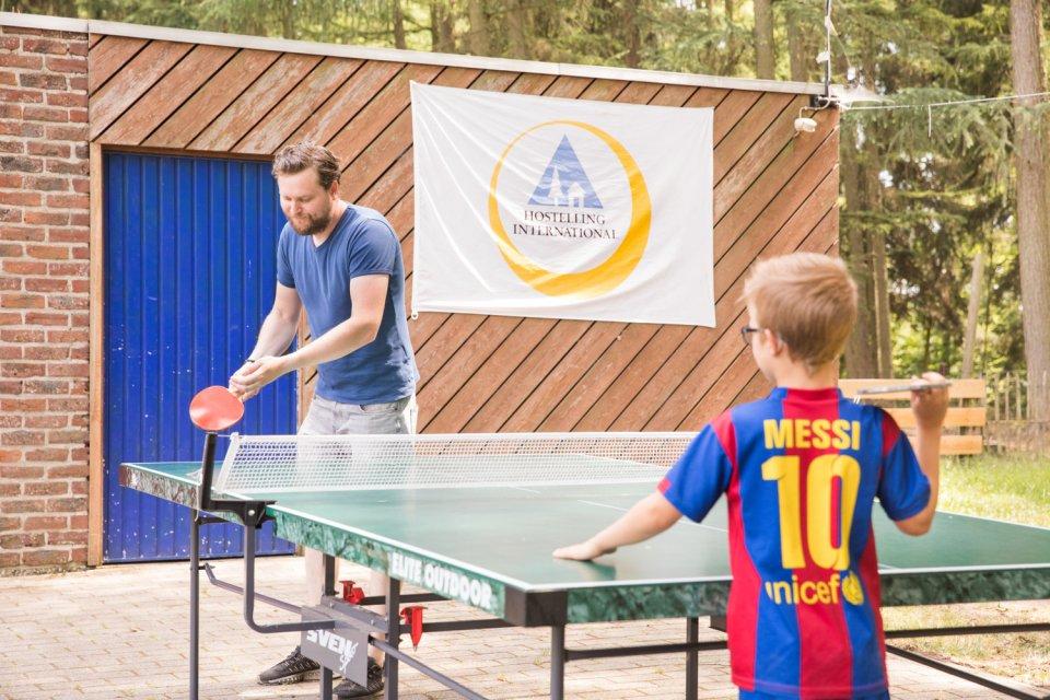 ping pong spelen