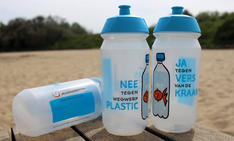 Bio drinkfles mei plasticvrij